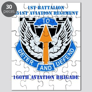 1-351st aviation rgt with text Puzzle