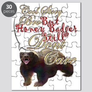 Honey Badger Cool Story Puzzle
