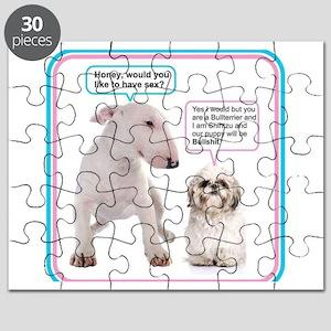 Dog humor Puzzle