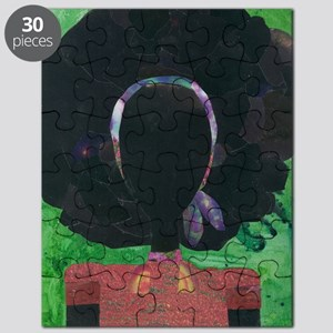 Girl with the Big Afro Puzzle