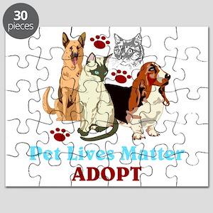 Pet Lives Matter Adopt Puzzle