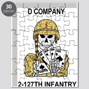 ARNG-127th-Infantry-D-Co-Mousepad Puzzle