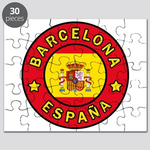 Barcelona España Puzzle