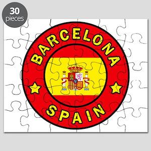 Barcelona Spain Puzzle