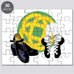 Celtic Knot Irish Shoes Puzzle
