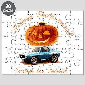 BabyAmericanMuscleCar_60Kmaro_Halloween_Blue Puzzl