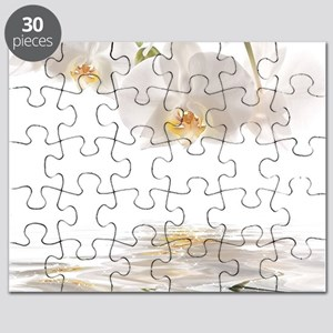 Orchids Reflection Puzzle