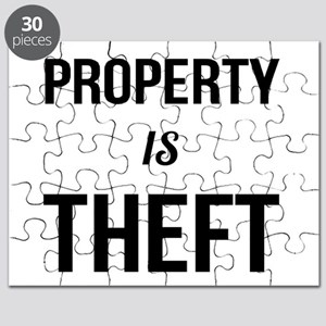 Property is Theft - Anarchist Socialist Com Puzzle