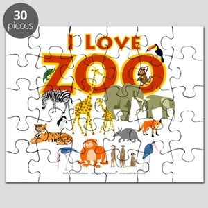 I Love Zoo Puzzle