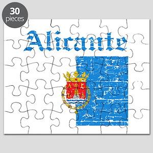 Alicante flag designs Puzzle
