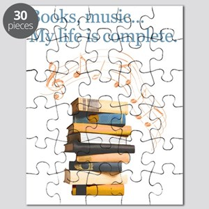 Books and music Puzzle
