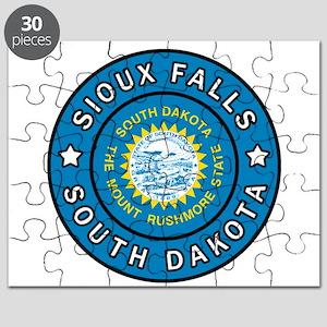 Sioux Falls South Dakota Puzzle