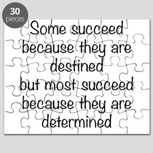 Some Succeed Because Puzzle
