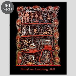 Herrad von Landsberg Hell Puzzle