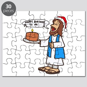 Happy Birthday Jesus Christmas Puzzle
