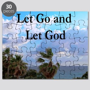 LET GO AND LET GOD Puzzle