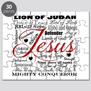 The Name of Jesus Puzzle