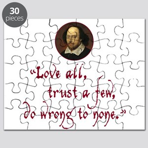 Love all, trust a few Puzzle