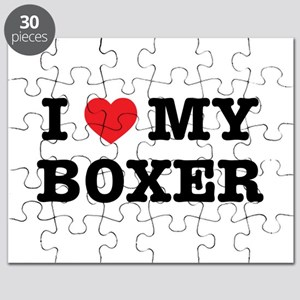 I Heart My Boxer Puzzle