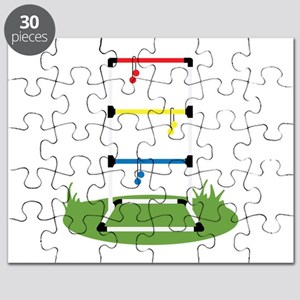 Backyard Game Puzzle