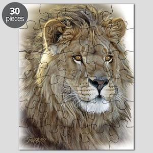 lion-portrait-t-shirt Puzzle