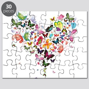 Heart of Butterflies Puzzle
