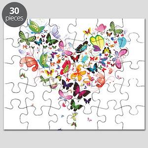Heart of Butterflies Puzzle