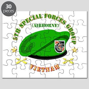 SOF - 5th SFG Beret - Vietnam. Puzzle