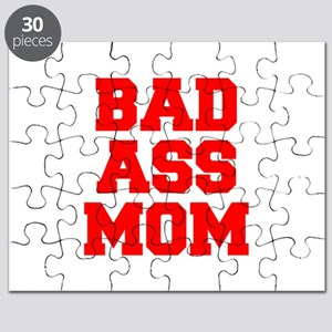 bad-ass-mom-FRESH-RED Puzzle