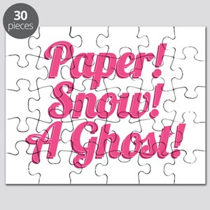 Paper! Snow! A Ghost! Puzzle