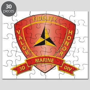 USMC - HQ Bn - 3rd Marine Division Puzzle