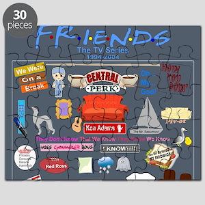 Friends TV Show Collage Puzzle