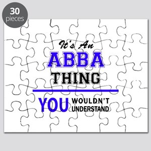 ABBA thing, you wouldn't understand! Puzzle