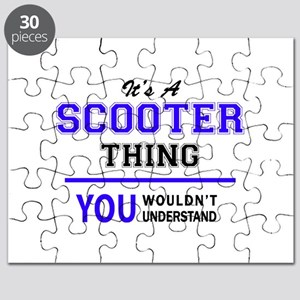 SCOOTER thing, you wouldn't understand! Puzzle