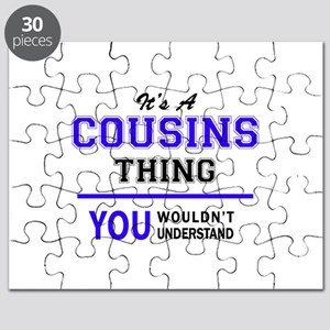 It's COUSINS thing, you wouldn't understand Puzzle