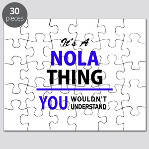 It's NOLA thing, you wouldn't understand Puzzle
