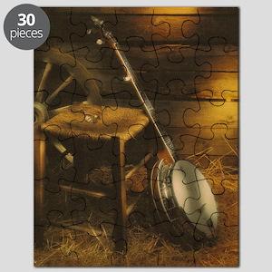 Banjo Picture Larger Puzzle