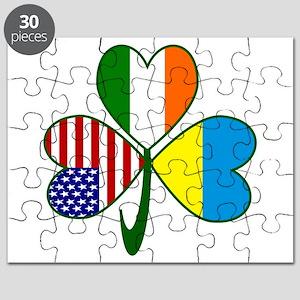 Shamrock of Ukraine Puzzle