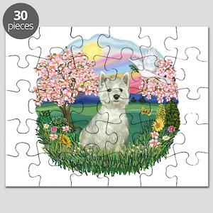 Blossoms-Westie 8 Puzzle