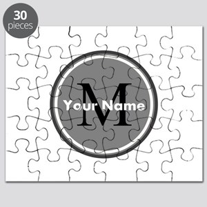 Custom Initial And Name Puzzle