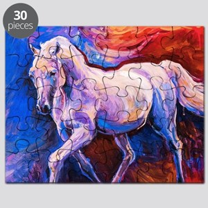 Horse Painting Puzzle