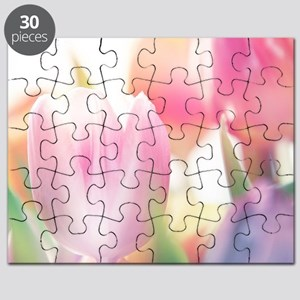 Beautiful Tulips Puzzle