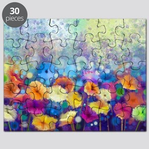 Floral Painting Puzzle