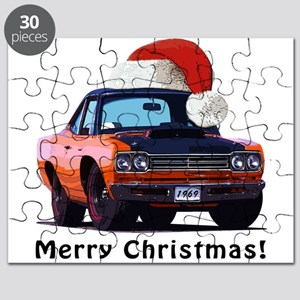 BabyAmericanMuscleCar_69_RoadR_Orange Puzzle