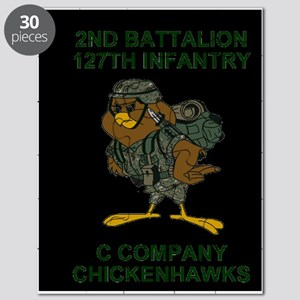 ARNG-127th-Infantry-C-Co-Mousepad-1 Puzzle