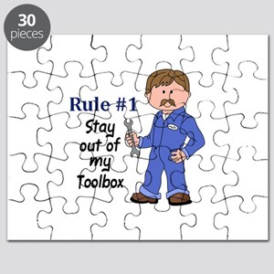 STAY OUT OF MY TOOLBOX Puzzle