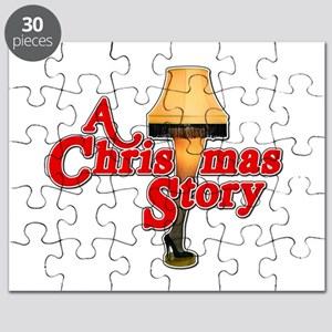 A Christmas Story Movie Lamp Puzzle