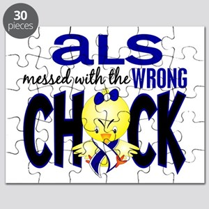 ALS Messed With Wrong Chick Puzzle