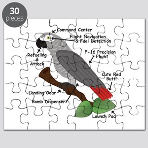 Anatomy of an African Grey Parrot Puzzle