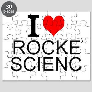 I Love Rocket Science Puzzle